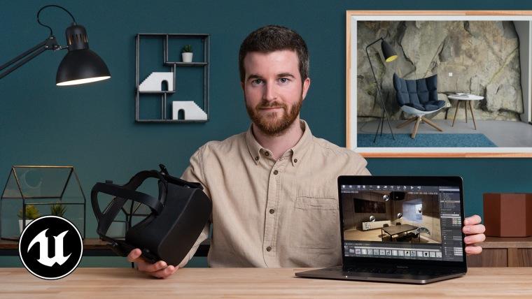 Infoarquitectura de interiores con Unreal Engine 4