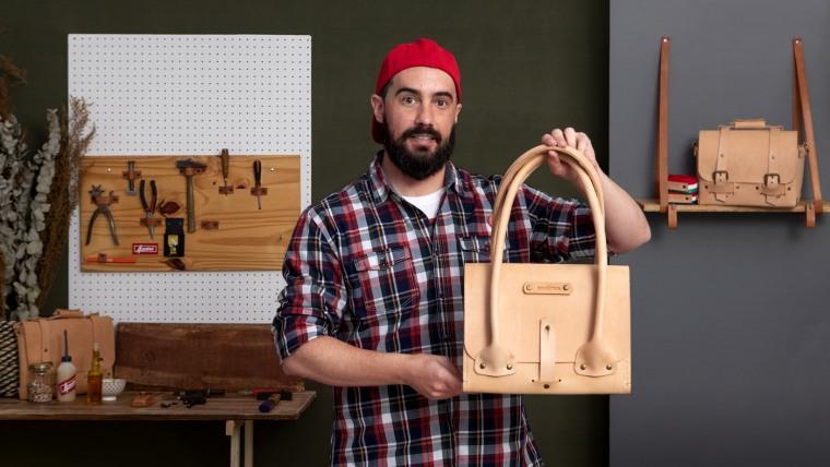 Criação de bolsas de couro artesanais para iniciantes