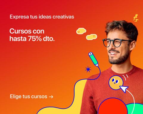 Expresa tus ideas con cursos creativos