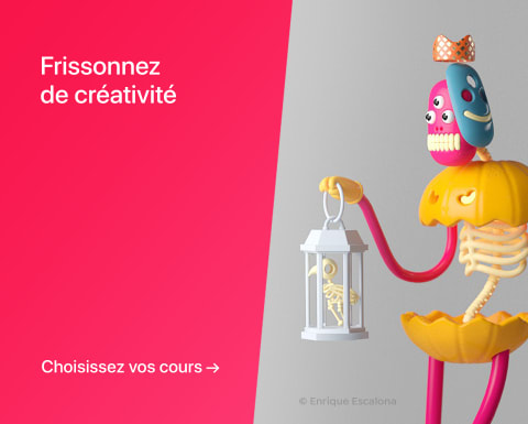 Frissonnez de créativité