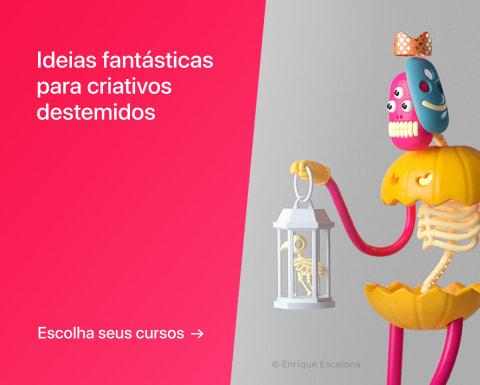 Ideias fantásticas para criativos destemidos