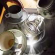 Café desgravedado - Pintura digital realizada con los dedos en el Ipad. Un proyecto de Diseño e Ilustración de Jaime Sanjuan Ocabo - 03.01.2014