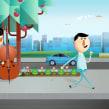 """Telefónica CDN. Un proyecto de Publicidad, Motion Graphics y Animación de Carlos """"Zenzuke"""" Albarrán - 02.04.2014"""
