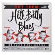 Hill Billy Blues. Portada para disco.. Um projeto de Design gráfico e Tipografia de Ivan Castro - 06.04.2014