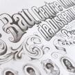 Orla para la 1ª promoción del Grado en Diseño de Bau.. Um projeto de Design gráfico e Tipografia de Ivan Castro - 06.04.2014