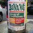 Bona Nit Barcelona. Imagen para festival musical.. A Br, ing und Identität, Grafikdesign, T und pografie project by Ivan Castro - 06.04.2014