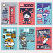 NEOX. Un proyecto de Ilustración, Publicidad y Diseño de personajes de Conspiracystudio - 04.05.2014
