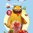 Cherrytos and Go. A Illustration, Br, ing, Identit, and Packaging project by Óscar Lloréns - 07.07.2014