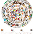 'Datos en los bolsillos'. A Fine Art, Information Architecture, Information Design, Infographics, and Concept Art project by Jaime Serra Palou - 07.09.2014