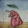 """""""El Efecto Lupa"""" El Niño Gusano. Un proyecto de Ilustración de Óscar Sanmartín Vargas - 15.07.2014"""