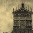 """""""Guía de Hoteles Inventados"""" Álbum ilustrado. A Illustration project by Óscar Sanmartín Vargas - 07.17.2014"""
