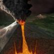 Volcanes de México, Quo Enero 2014. Un proyecto de Ilustración, 3D y Diseño editorial de Román García Mora - 31.12.2013