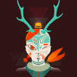 Forest King. Un proyecto de Ilustración de Gabriel Suchowolski · microbians - 07.10.2012