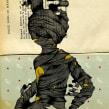Atrapado. Un projet de Illustration, Beaux Arts , et Sérigraphie de Óscar Lloréns - 09.10.2014