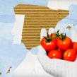 Alimentos españoles para la exportación.. Un proyecto de Ilustración, Dirección de arte y Diseño gráfico de Gonzalo Cordero de Ciria - 13.10.2014