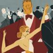 Ilustrando El Joven Rico, de F. Scott Fitzgerald. A Illustration project by José Luis Ágreda - 10.23.2014