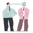 Hablar no es comunicar.. Un proyecto de Ilustración de José Luis Ágreda - 23.10.2014