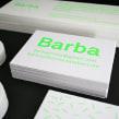 Barba's stationery. Un proyecto de Serigrafía de Barba - 31.10.2012