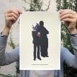Muertito. Un proyecto de Ilustración y Serigrafía de Barba - 31.10.2012