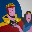 Flash Gordon (de digital a analógico). Un proyecto de Ilustración, Bellas Artes y Cómic de José Luis Ágreda - 20.11.2014