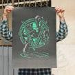Underground rats. Un proyecto de Ilustración y Serigrafía de Barba - 21.12.2012