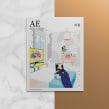 AE mag issue#1. A Kunstleitung, Verlagsdesign und Grafikdesign project by Pablo Abad - 03.12.2014