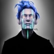 Tilda Swinton Robotized. Un proyecto de Ilustración y Fotografía de Luaiso Lopez - 20.04.2011