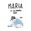 María cumple 20 años,una nueva novela gráfica. Un proyecto de Cómic de Miguel Gallardo - 22.01.2015