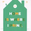 My home is where i print. Un proyecto de Diseño, Bellas Artes y Serigrafía de Barba - 28.01.2015
