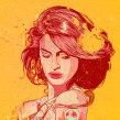 Girls. Un proyecto de Ilustración y Dirección de arte de Óscar Lloréns - 08.02.2015