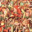 Portada Pantones. A Design & Illustration project by Juan Díaz-Faes - 02.24.2015