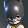 Little Batman. Un proyecto de 3D y Escultura de Luis Gomez-Guzman - 22.03.2015