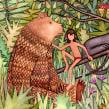 El libro de la selva. A Design, Illustration, Editorial Design, Education, and Fine Art project by Carlos Arrojo - 02.28.2014
