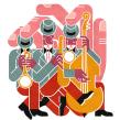 Jazz!. Un proyecto de Diseño, Ilustración y Publicidad de Carlos Arrojo - 31.05.2013