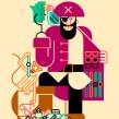 Datum magazine. Um projeto de Design, Ilustração, Artes plásticas e Design gráfico de Carlos Arrojo - 30.09.2014