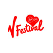 V Festival. Um projeto de Br e ing e Identidade de Saffron - 03.08.2015