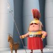 Troyano. Un proyecto de 3D, Diseño de personajes y Escultura de Luis Arizaga - 18.10.2015