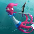 Cartoon animals for 3DCreative. Un proyecto de 3D, Animación y Diseño de personajes de Luis Arizaga - 18.10.2015