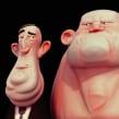Bustos cartoon sketch 3d. Un proyecto de 3D, Animación, Diseño de personajes y Escultura de Luis Arizaga - 18.10.2015