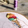 Helado y Chimeneas para LeCoolBarcelona. Un proyecto de Ilustración, Artesanía, Bellas Artes y Bordado de Señorita Lylo - 08.11.2015