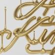 Lettering + 3D. Un proyecto de 3D y Tipografía de Wete - 26.11.2015