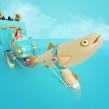 EMMI FONDÜ. Un proyecto de Ilustración, 3D, Animación y Dirección de arte de Aarón Martínez - 03.01.2016