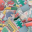 Promotional stickers. Un proyecto de Ilustración y Diseño gráfico de Stereoplastika - 28.01.2016
