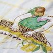 """""""Los 80 golpes"""" bordado para un cuento de Alfina Fontana. Un proyecto de Diseño, Ilustración, Dirección de arte, Artesanía, Diseño gráfico y Bordado de Señorita Lylo - 14.02.2016"""