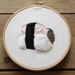 Mujer Sushi. Un proyecto de Ilustración, Fotografía, Artesanía, Bellas Artes y Bordado de Señorita Lylo - 12.03.2016