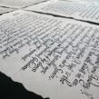 Welcome letters Ruavieja. Un proyecto de Br, ing e Identidad y Caligrafía de Victor Kams - 16.03.2016