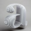 Type Frame. Un proyecto de Arquitectura, Artesanía, Diseño gráfico, Tipografía y Papercraft de Lo Siento Studio - 28.03.2016