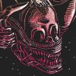 ALIEN HORROR SHOW BY NEW RULE COLLECTIVE. Un proyecto de Ilustración, Diseño gráfico y Serigrafía de Copete Cohete - 04.04.2016