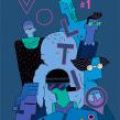 Voltio Magazine #1. Un proyecto de Ilustración de Ana Galvañ - 06.04.2016