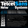 Telcel Sans | Tipografía corporativa. Un proyecto de Tipografía de GM Meave - 18.04.2016